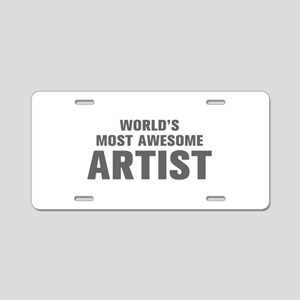 WORLDS MOST AWESOME Artist-Akz gray 500 Aluminum L